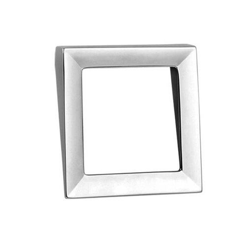 Zen Dharma 1-7/8 Inch Center to Center Polished Chrome Cabinet Pull ZP0046.1