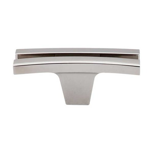 Top Knobs Sanctuary 2-5/8 Inch Length Polished Nickel Cabinet Knob TK87PN