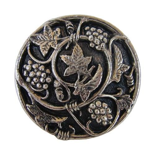 Notting Hill Tuscan 1-5/16 Inch Diameter Brite Nickel Cabinet Knob NHK-129-BN