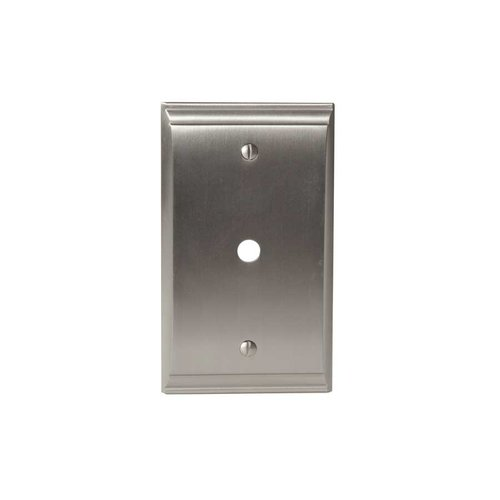 Amerock Candler One Cable Wall Plate Satin Nickel BP36512G10