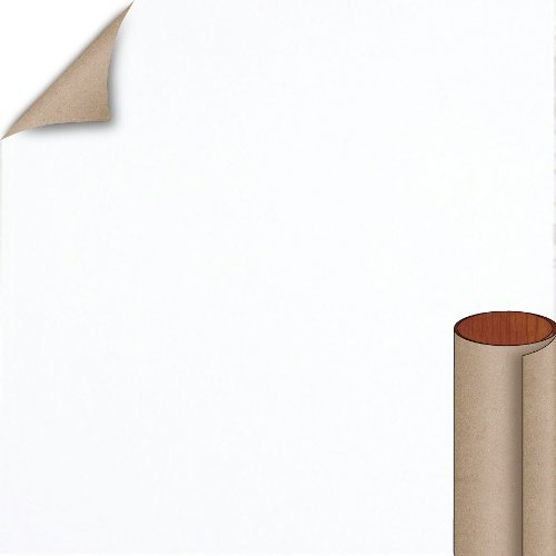 Nevamar Chalk White Textured Finish 4 ft. x 8 ft. Vertical Grade Laminate Sheet S7024T-T-V3-48X096