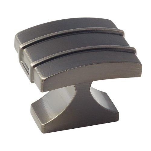 Amerock Davenport 1-1/2 Inch Diameter Gunmetal Cabinet Knob BP36602GM