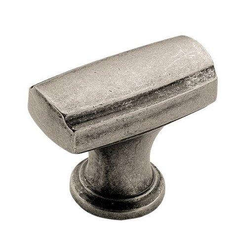 Amerock Highland Ridge 1-3/8 Inch Diameter Aged Pewter Cabinet Knob BP55311AP