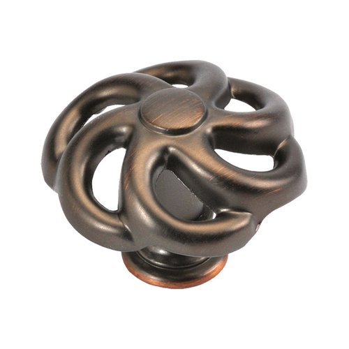 Hickory Hardware Charleston Blacksmith 1-1/2 Inch Diameter Refined Bronze Cabinet Knob PA1311-RB