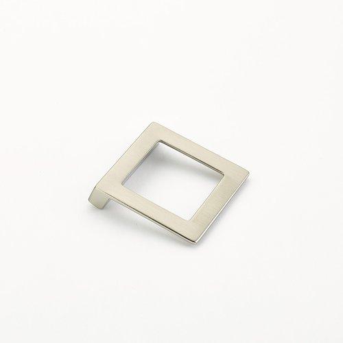 Schaub and Company Finestrino 1-1/4 Inch Center to Center Satin Nickel Cabinet Pull 450-15