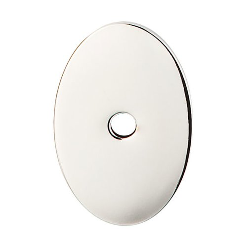 Sanctuary 1-1/2 Inch Length Polished Nickel Back-plate <small>(#TK60PN)</small>