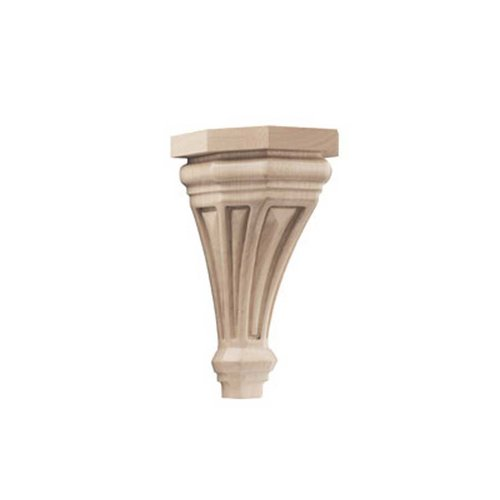 Brown Wood Pinnacle Small Corbel Unfinished Hard Maple 01607116HM1