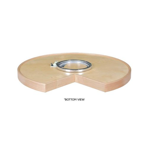 Century Components 28 inch Pie Cut Lazy Susan - 2 Shelf Set with Bearing MAG28PCPF