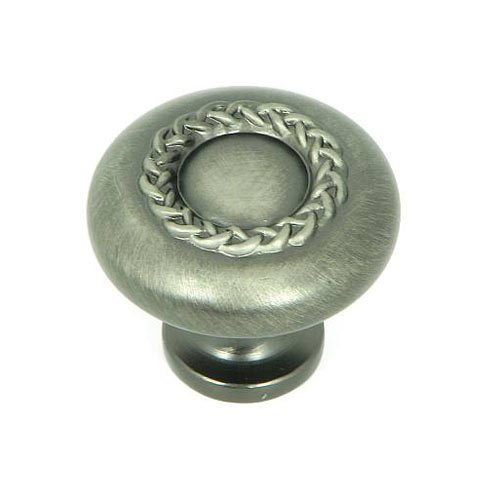 Palermo 1-1/4 Inch Diameter Weathered Nickel Cabinet Knob <small>(#CP3027-WEN)</small>
