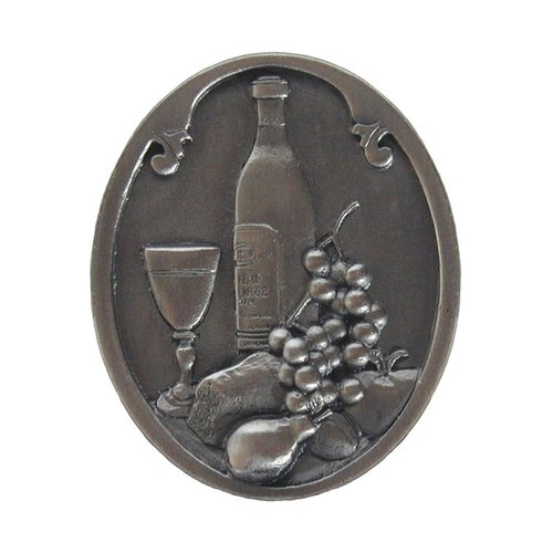 Notting Hill Tuscan 1-1/2 Inch Diameter Antique Pewter Cabinet Knob NHK-140-AP
