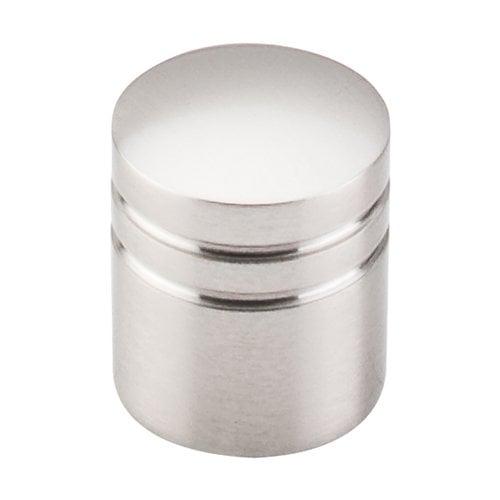 Top Knobs Nouveau II 1 Inch Diameter Brushed Satin Nickel Cabinet Knob M582