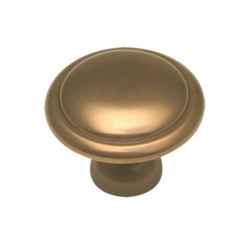 Hickory Hardware Conquest 1-3/8 Inch Diameter Veneti Bronze Cabinet Knob P14848-VBZ