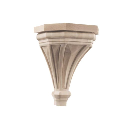 Pinnacle Large Corbel Unfinished Hard Maple <small>(#01607316HM1)</small>