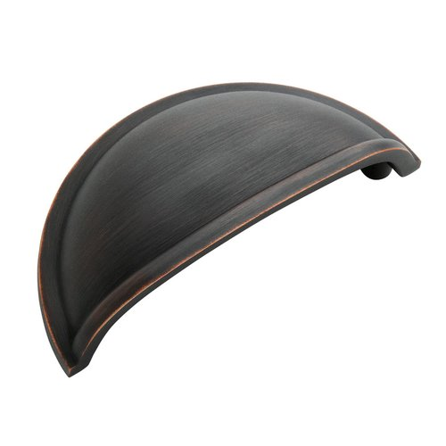 Amerock Cup Pulls 3 Inch Center to Center Oil Rubbed Bronze Cabinet Cup Pull BP53010ORB