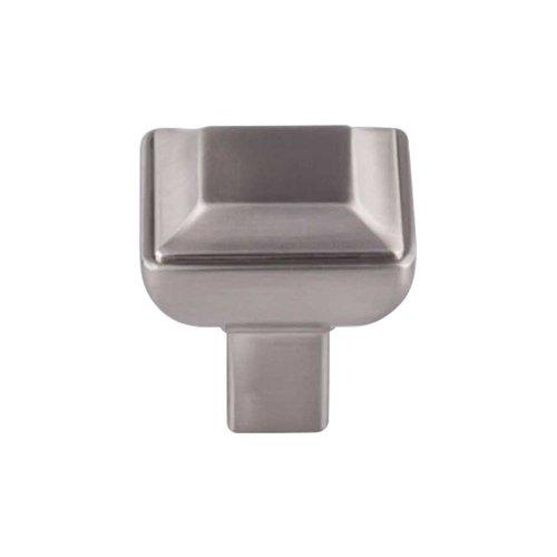 Top Knobs Transcend 1-1/8 Inch Diameter Brushed Satin Nickel Cabinet Knob TK671BSN