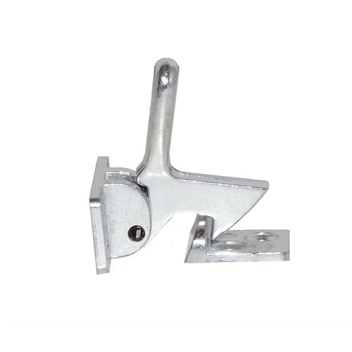 Cast Elbow Catch Satin Chrome <small>(#1590-626)</small>