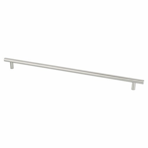 Berenson Stainless Steel 15-1/8 Inch Center to Center Stainless Steel Cabinet Pull 7072-9SS-C