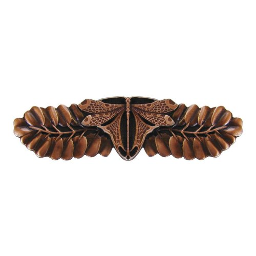 Notting Hill All Creatures 3 Inch Center to Center Antique Copper Cabinet Pull NHP-607-AC