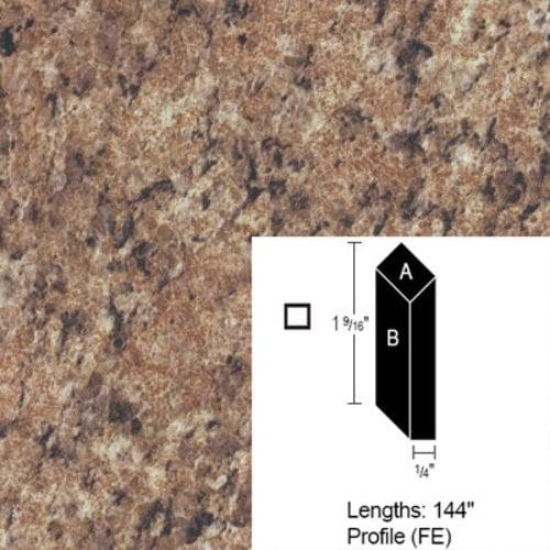 Wilsonart Bevel Edge - Milano Amber-12Ft CE-FE-144-4724-52