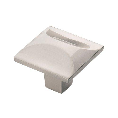 "Hickory Hardware Crest Knob 1-1/4"" Dia Satin Nickel H076127-SN"