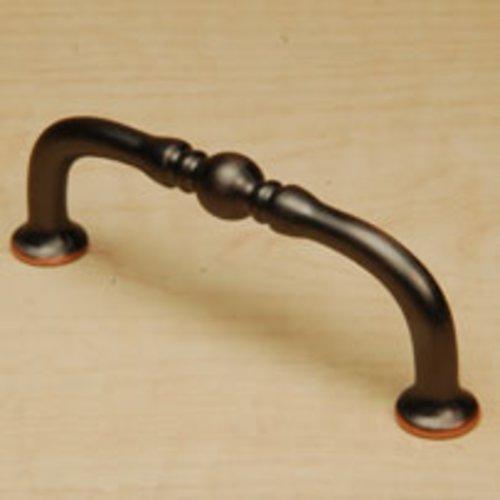 Century Hardware Bocci 3 Inch Center to Center Antique Bronze Copper Cabinet Pull 29873-AZC