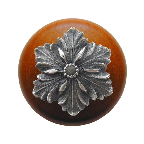 Notting Hill Classic 1-1/2 Inch Diameter Antique Pewter Cabinet Knob NHW-725C-AP