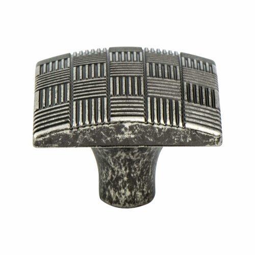 Berenson Virtuoso 1-3/16 Inch Diameter Rustic Tin Cabinet Knob 7140-10RT-C
