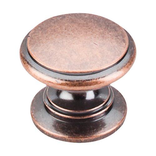 Top Knobs Somerset 1-1/4 Inch Diameter Antique Copper Cabinet Knob M357