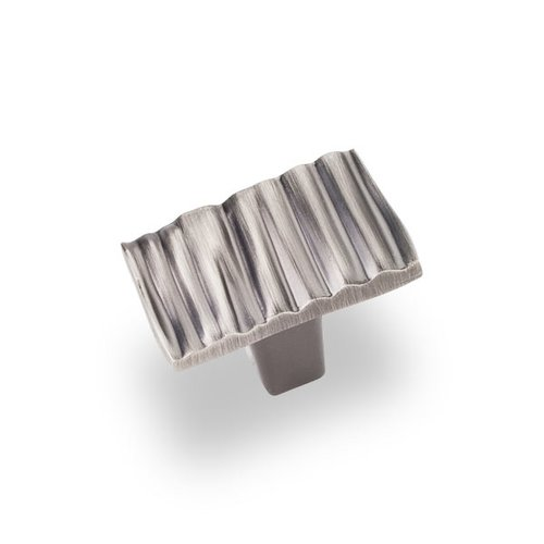 Jeffrey Alexander Valencia 1-3/16 Inch Diameter Bright Nickel Brushed with Dull Lacquer Cabinet Knob 80508BNBDL