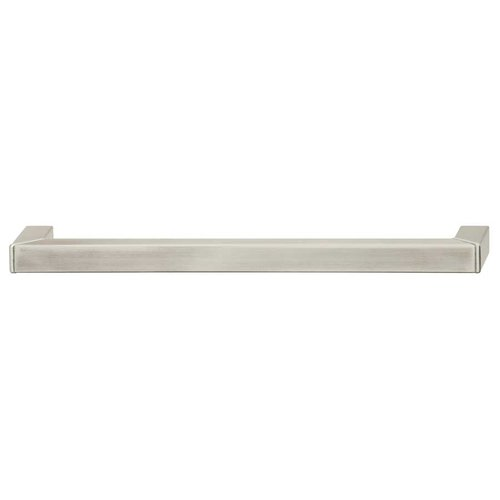 Hafele Bella Italiana 12-5/8 Inch Center to Center Matte Stainless Steel Cabinet Pull 100.51.028