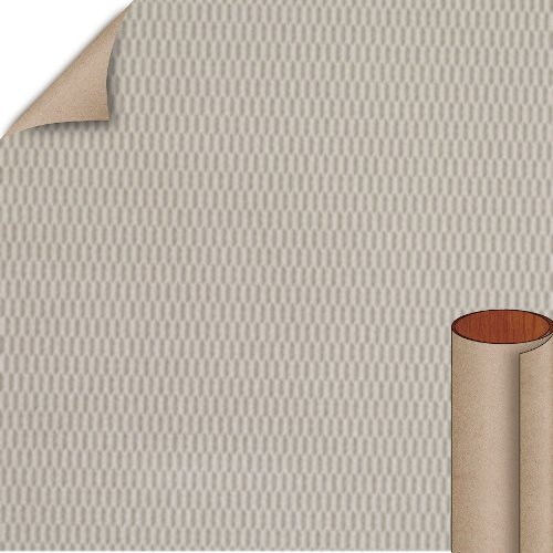 Nevamar Silverline Hautelink Textured Finish 4 ft. x 8 ft. Vertical Grade Laminate Sheet HLT004T-T-V3-48X096