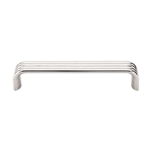 Top Knobs Sanctuary II 5 Inch Center to Center Polished Nickel Cabinet Pull TK263PN