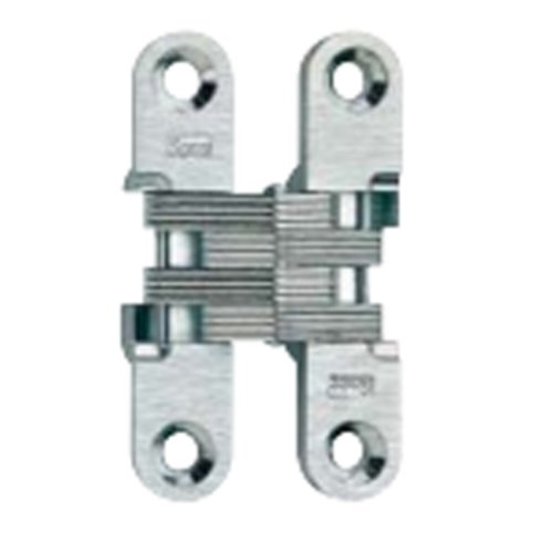 Soss #204 Invisible Hinge Polished Brass 204CUS3