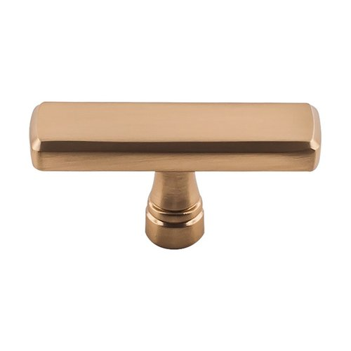 "Top Knobs Devon Kingsbridge Knob 2-3/8"" Dia Honey Bronze TK852HB"