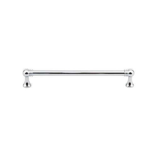 Top Knobs Serene 7-9/16 Inch Center to Center Polished Chrome Cabinet Pull TK805PC