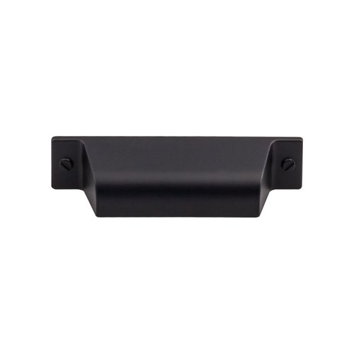 Top Knobs Barrington 2-3/4 Inch Center to Center Flat Black Cabinet Cup Pull TK772BLK