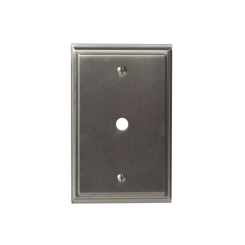 Amerock Mulholland One Cable Wall Plate Satin Nickel BP36526G10