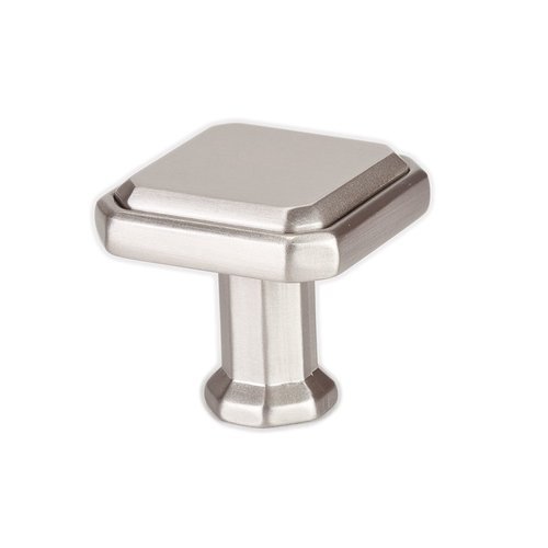 Harmony 1-3/16 Inch Length Brushed Nickel Cabinet Knob <small>(#9462-1BPN-P)</small>
