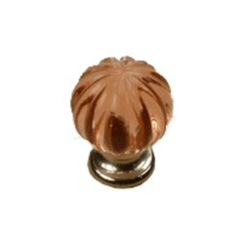 Tahoe 1-1/4 Inch Diameter Rose/Satin Nickel Cabinet Knob <small>(#18409-15R)</small>