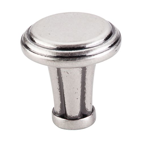 Top Knobs Luxor 1-1/4 Inch Diameter Pewter Antique Cabinet Knob TK196PTA