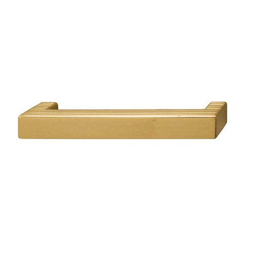 Hafele Bella Italiana 2-1/2 Inch Center to Center Polished Gold Cabinet Pull 108.57.810