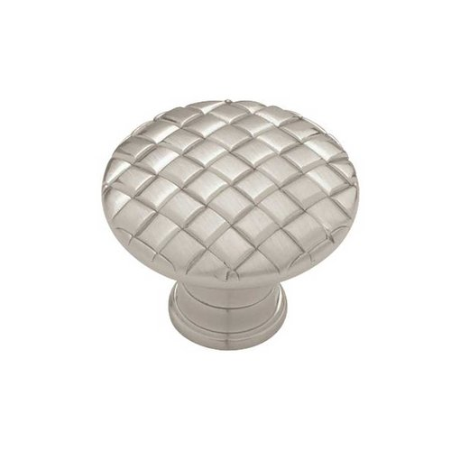 Liberty Hardware Contempo 1-3/16 Inch Diameter Satin Nickel Cabinet Knob PN0416-SN-C