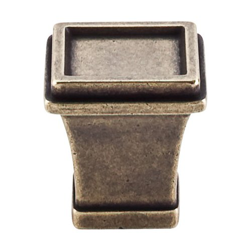Top Knobs Great Wall 1-1/8 Inch Length German Bronze Cabinet Knob TK185GBZ