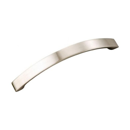 Rotterdam 5 Inch Center to Center Satin Nickel Cabinet Pull <small>(#P3111-SN)</small>
