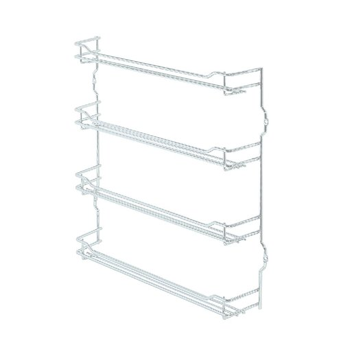 "Spice Rack 15-3/8"" Wide Chrome Finish <small>(#543.19.280)</small>"