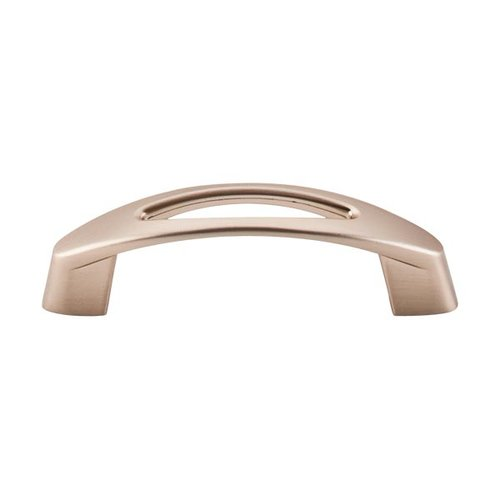 Top Knobs Nouveau 3 Inch Center to Center Brushed Bronze Cabinet Pull M1772