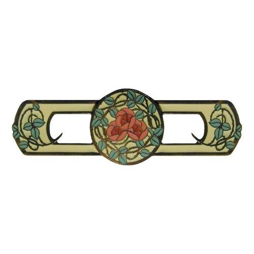 Notting Hill Arts & Crafts 3 Inch Center to Center Dark Brass Cabinet Pull NHP-671-DB-A