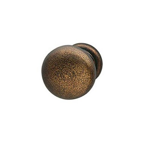 Hafele Bordeaux 1-1/4 Inch Diameter Oil Rubbed Bronze Cabinet Knob 125.88.355