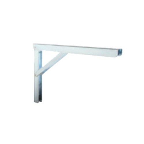 Knape and Vogt 206 Folding L Bracket 12 inch Zinc 206 ZC 12