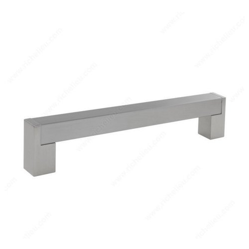 Richelieu Bar Pulls 7-9/16 Inch Center to Center Brushed Nickel Cabinet Pull BP520192195